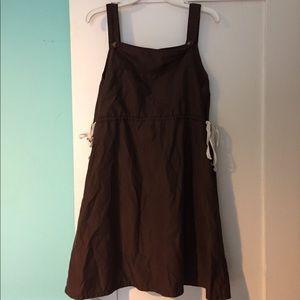 Dear Creatures brown dress size medium